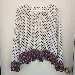 Aeropostale large peasant blouse